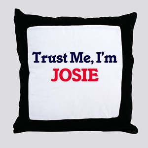 Trust Me, I'm Josie Throw Pillow